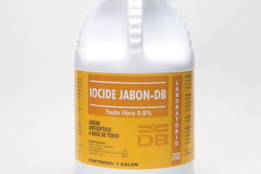 IOCIDE JABON –DB 0.8% SOLUCION