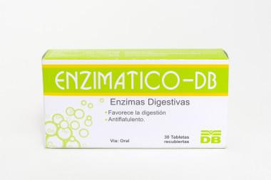 ENZIMATICO- DB TABLETAS RECUBIERTAS