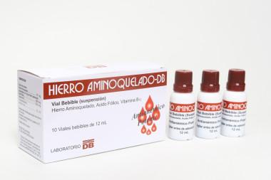 HIERRO AMINOQUELADO - DB VIAL BEBIBLE